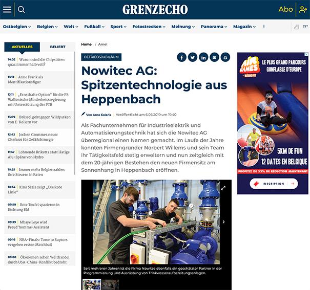 Nowitec AG: Spitzentechnologie aus Heppenbach