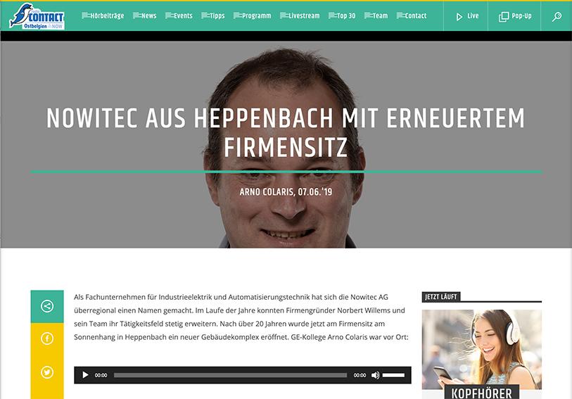 Nowitec aus Heppenbach mit erneuertem Firmensitz